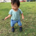 山村咲(さく)ちゃんの写真を送っていただきました